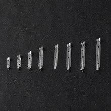 20 шт./упак. Брошь база 1,5 см-4,5 см металлические штифты обратно бар держатель для бейджа замок безопасности Брошь Пен DIY ювелирных аксессуар Запчасти