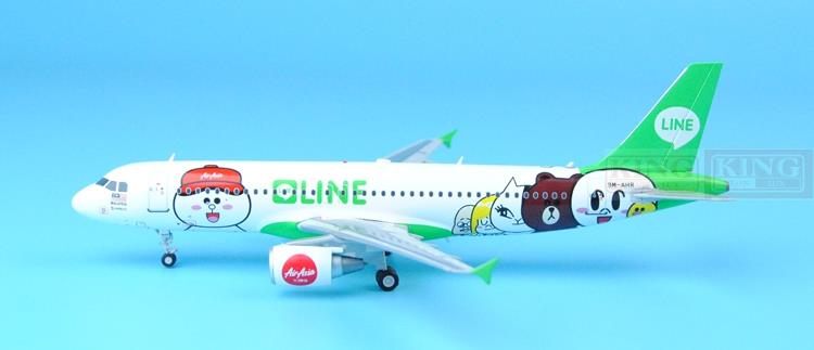 Wings XX2956 JC Spike: Asia aviation 9M-AHR LINE 1:200 A320 commercial jetliners plane model hobby special offer wings xx4232 jc korean air hl7630 1 400 b747 8i commercial jetliners plane model hobby