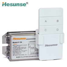 Y-C6 Two Ways 220V Wireless Remote Control Switch For Lights Through Walls 110V Could Be Customized