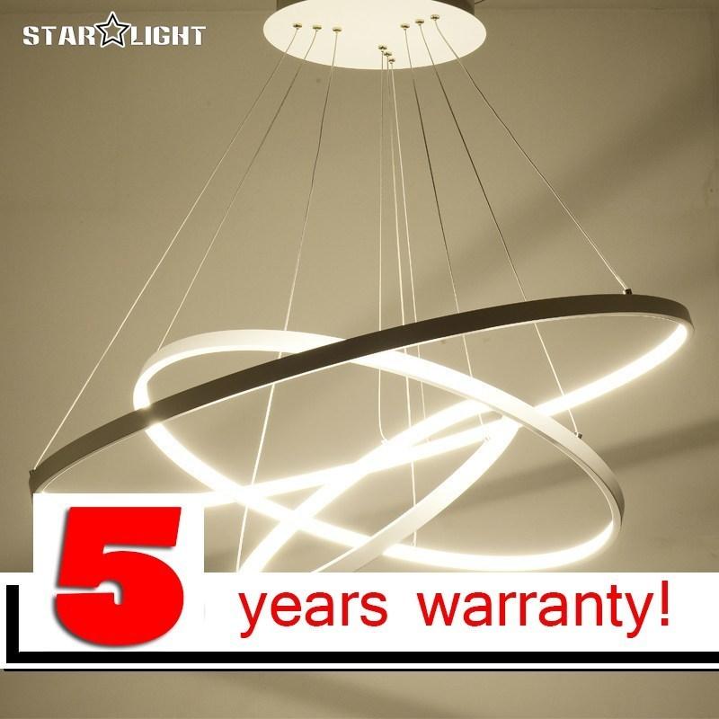 LOFAHS 3 Ring circles modern led pendant lights for dining living room Aluminum cerchio led-lamp hanging pendant lamp все цены