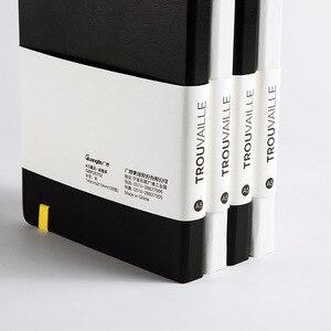 Image 3 - Gepunktete Notebook Dot Grid Journal A5 Hard Cover Tagebuch Dicken Reise Tagebuch Planer