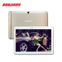 "Bobarry 10.1 ""Tablet Android 6.0 Octa Core 64 GB ROM de Doble Cámara/Dual SIM Tablet PC Soporte OTG WIFI GPS 4G LTE teléfono bluetooth"