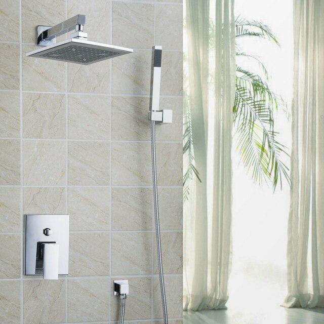Luxe Moderne Badkamer Douche chuveiro doen banheiro Set Bad ...