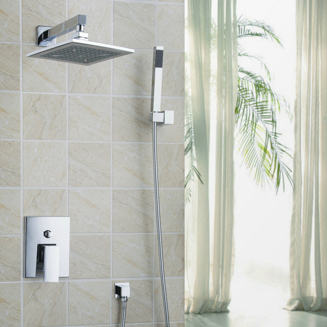 Luxury Modern Bathroom Shower Chuveiro Do Banheiro Set Bath Rain