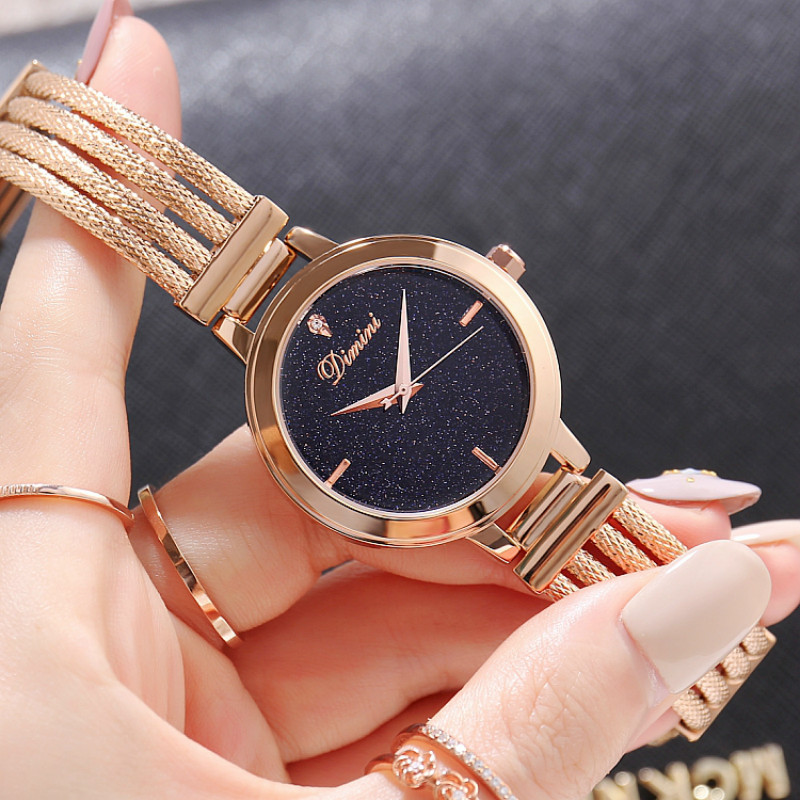 купить Top Brand Watch Women Watches Rose Gold Bracelet Watch Luxury Rhinestone Ladies Watch saat relogio feminino montre femme по цене 2933.41 рублей
