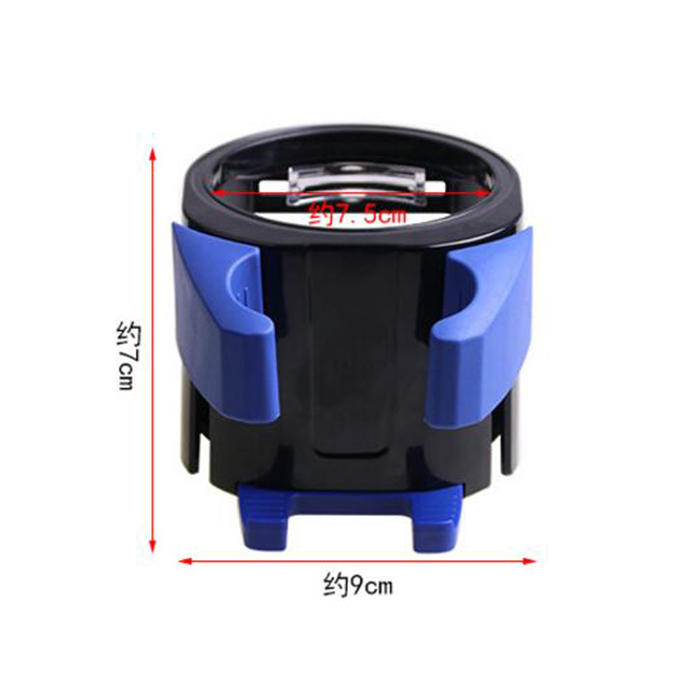 Image 4 - New car mobile phone holder car cup holder Air Condition drink holder Water bottle holder Multi functional storage rack-in Drinks Holders from Automobiles & Motorcycles