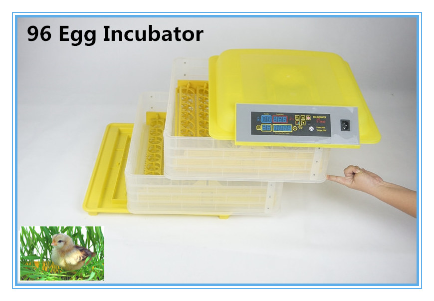 ФОТО  Egg Incubator Machine Chickens Poultry Quails Pigeons turn tray Automatic poultry incubation equipment
