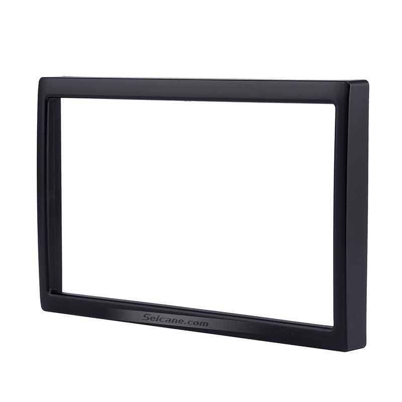 Seicane 2Din 173*98mm Car Radio Fascia Frame For 2002 Mazda Family Auto Stereo Installation Trim Panel Refit Mount Kit Bezel