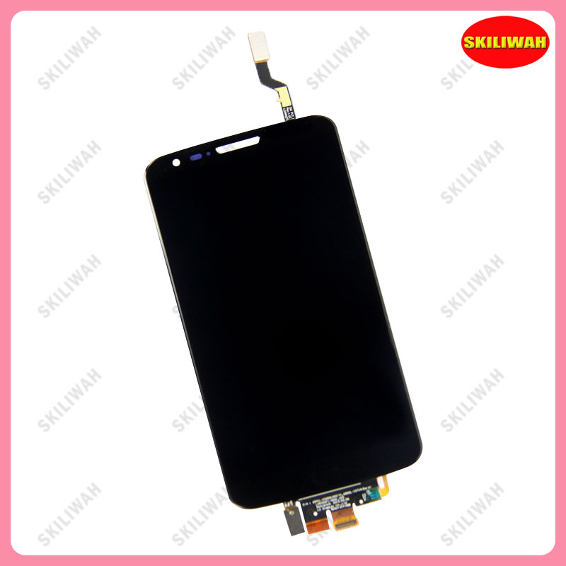 Free Shipping For LG Optimus G2 VS980 LCD Display with Black Touch Screen Digitizer Assembly with