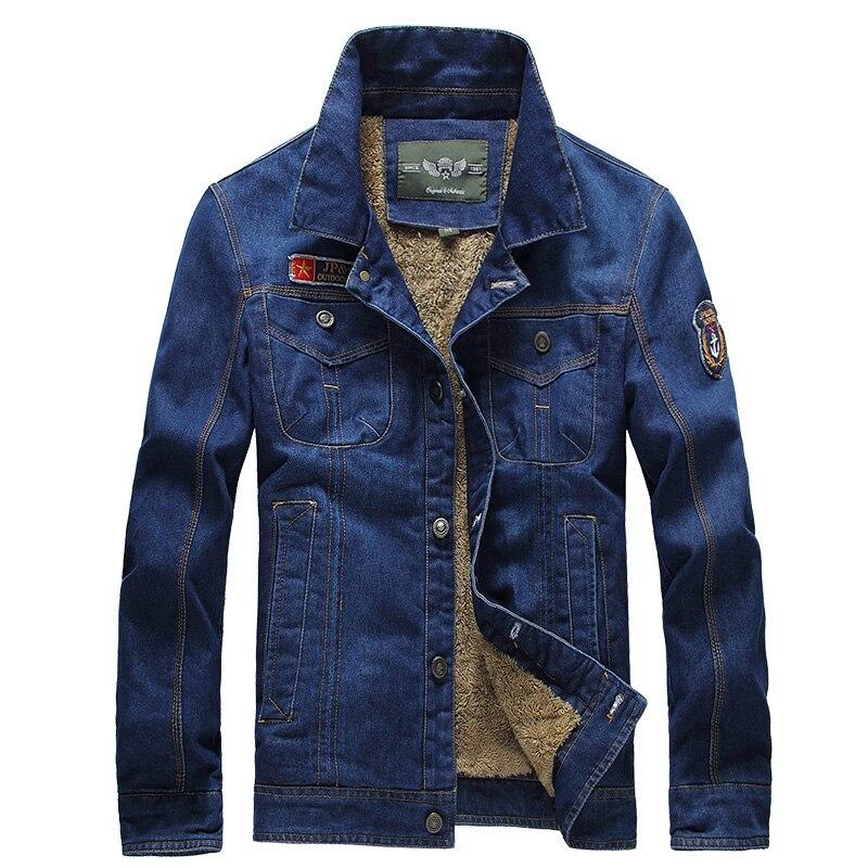 Новинка 2017 года брендовая одежда ретро классический Для мужчин джинсовые куртки Повседневное толстые Джинсы для женщин модная куртка Для М...