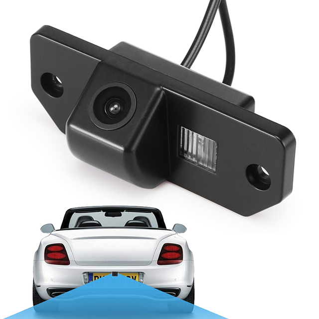 Waterproof Car Rear View Camera 170 Degrees Wide Angle Reverse Parking Backup Camera for Ford Focus 2 Sedan 2005-2011 C-Max
