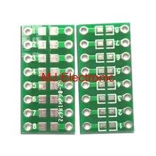 20 шт./лот 0805 0603 0402 SMT очередь DIP Конденсатор Резистор LED IC Гнездо адаптера PCB