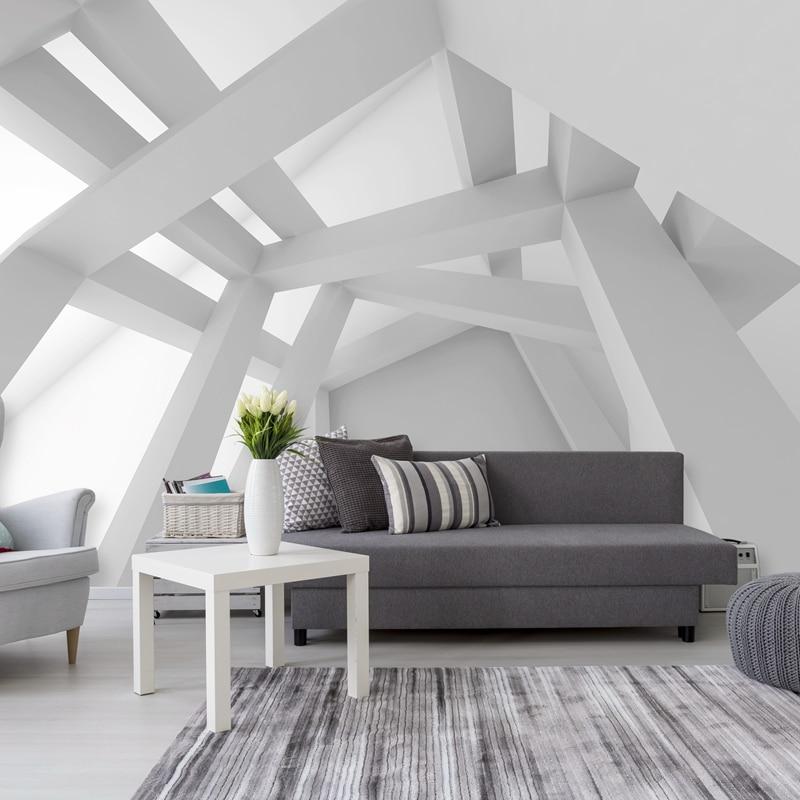 Custom 3D Photo Wallpaper Modern Art Abstract Geometric Pattern Wall Painting Living Room Sofa TV Background Wall Paper Mural 3D