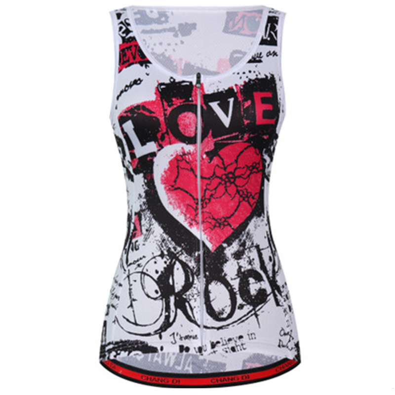 Summer Sunscreen Women's Cycling Vests Lightweight Breathable Bike Bicycle Riding Cycling Vest Sleeveless Bike Vest Jersey Cloth