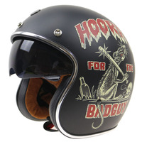 TORC Serials JET Style Helmet DOT ECE Approved Open Face Motorcycle Helmet Vintage Helmet With Goggle