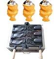 110 v 220 v Ice Cream Máquina Taiyaki boca Aberta fabricante Taiyaki