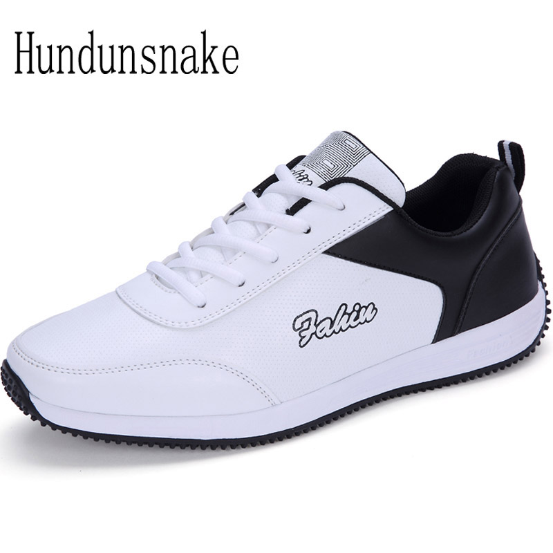 Hundunsnake Winter Sneaker Women White Leather Women