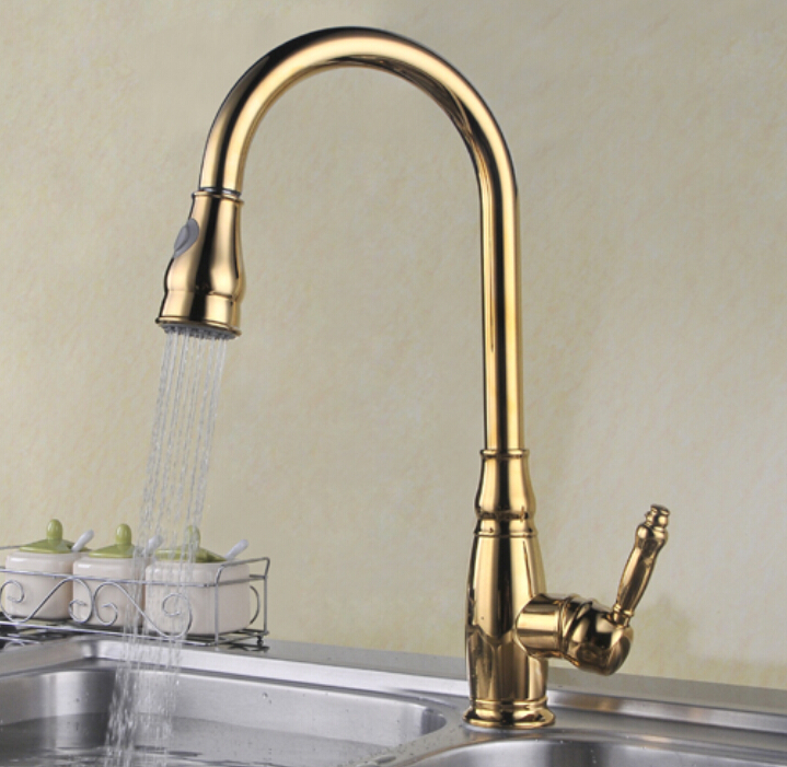 Popular Gold Kitchen FaucetsBuy Cheap Gold Kitchen