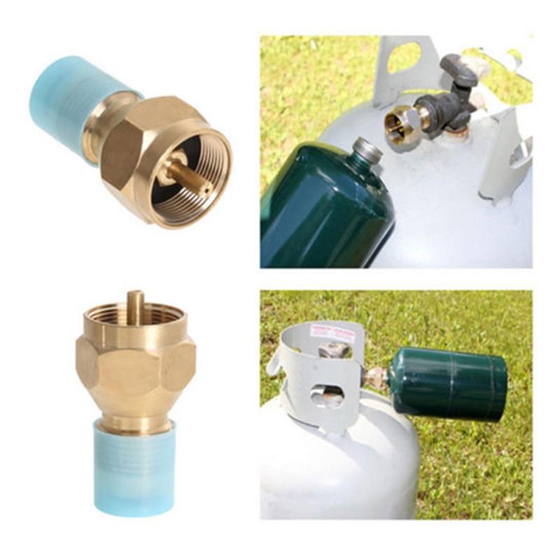Propane Refill Adapter Lp Gas 1 Lb Cylinder Tank Coupler Heater Bottles ColemanPropane Refill Adapter Lp Gas 1 Lb Cylinder Tank Coupler Heater Bottles Coleman
