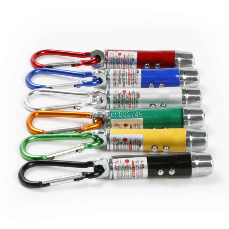 5 PCS 3 ב 1 מיני לייזר עט מצביע פנס LED UV לפיד אור עם Keychain עבודה קמפינג כיס LED עט