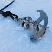 High Performance Grappling Hook Gravity Hook Survival Folding Grappling Hook Climbing Claw Carabiner VS085 T40