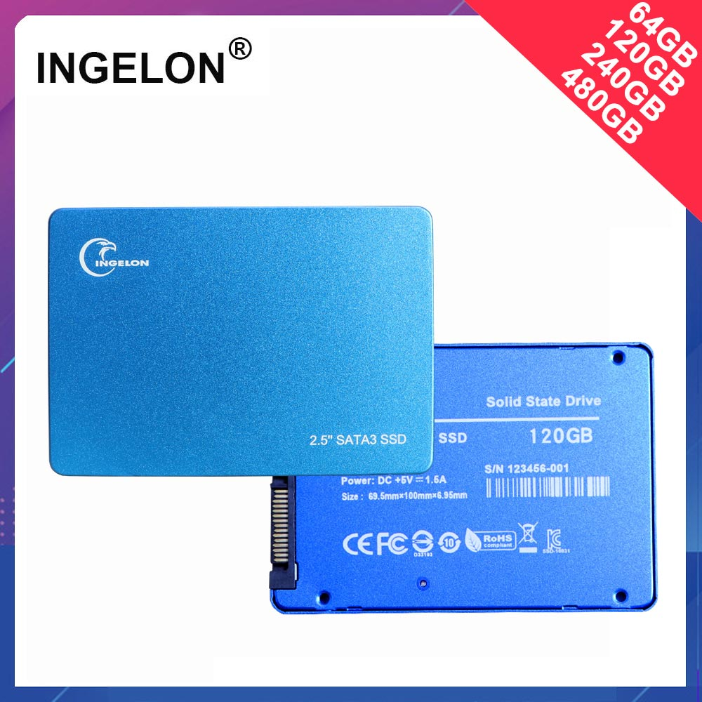 Promotional 2019 Metal <font><b>SSD</b></font> 240GB 480GB 120GB 64GB Memory Solid Disk Laptop Desktop Disco <font><b>ssd</b></font> <font><b>240</b></font> <font><b>gb</b></font> hdd 2.5
