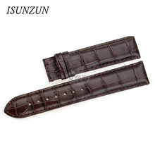 ISUNZUN is still really suitable for Tissot wave series 1853 T02 T023 T028 14MM Ladies leather strap  купить недорого в Москве