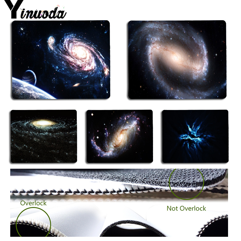 Yinuoda Cool New Beautiful Star Sky Laptop Computer Mousepad Size for 180x220x2mm and 250x290x2mm Rubber Mousemats