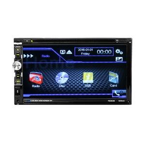 "Image 4 - 6063B Universal 2 Din Car DVD player 6.95"" Car Autoradio Video/Multimedia MP5 Player mp4 Car Stereo audio player car DVD"