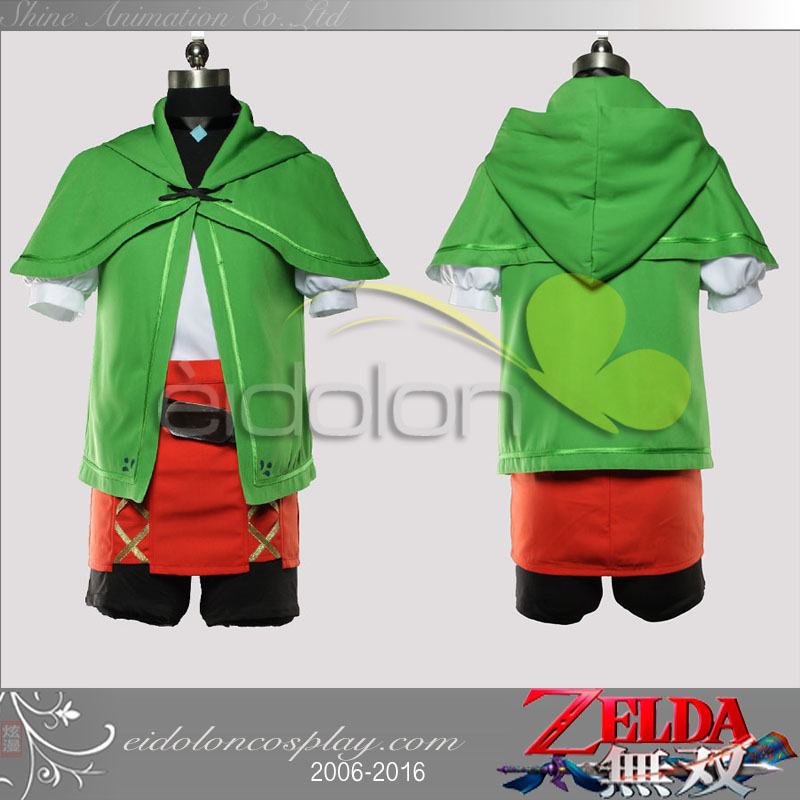 New Arrive The Legend of Zelda Hyrule Warriors: All-Stars Cosplay Costume