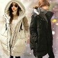 Высокое Качество Канадские Зимние Куртки С Длинным Рукавом Зимой Вниз Куртки для Беременных Женщин Хлопка XXXL Одежда Для Беременных Зима