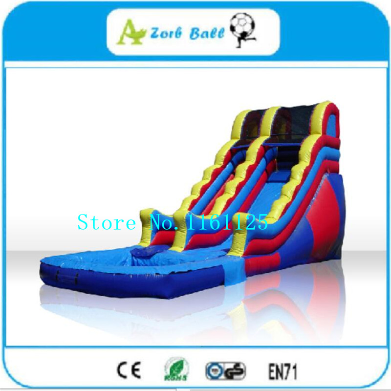 Inflatable Water Slide With Price: Free Shipping Inflatable Water Slide With Factory Price
