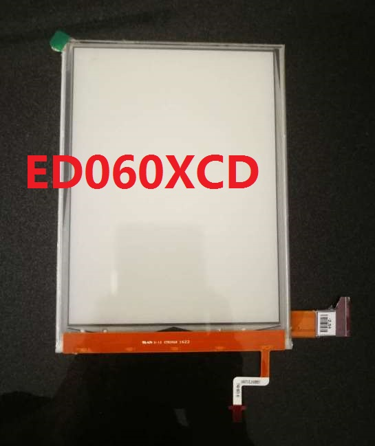 ED060XCD 6.0inch E-Ink Lcd Display With Backlight No Touch For Glass Reader Ebook EReader LCD Display ED060XCD U1-55 Screen