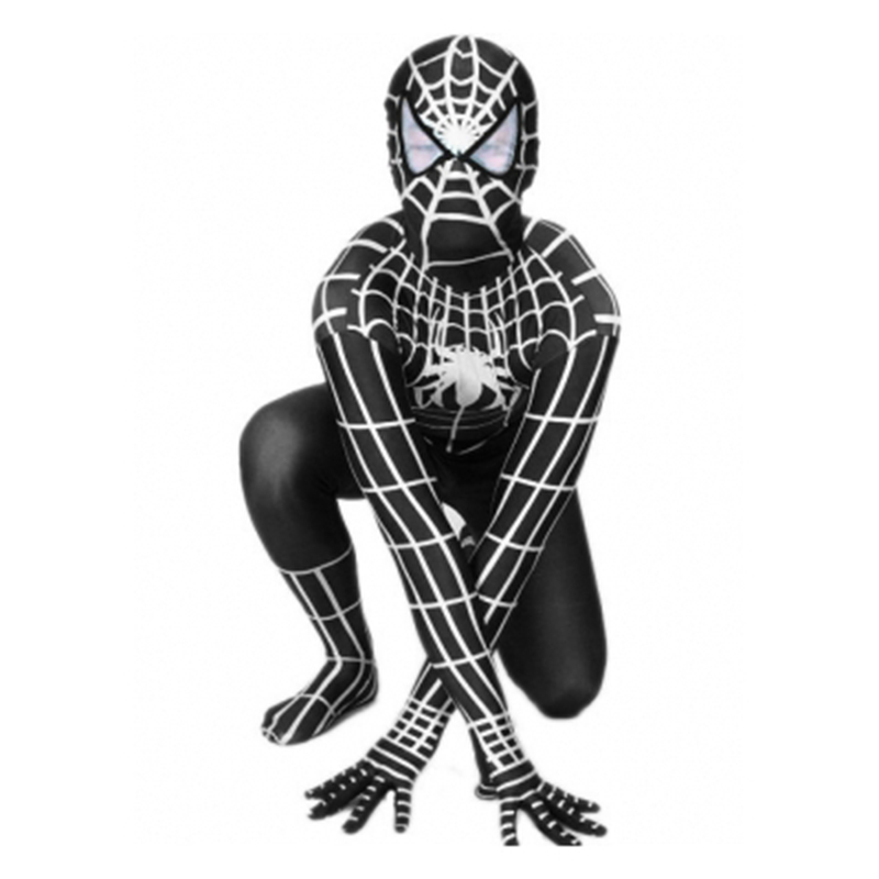 Adult Homecoming Black White Spiderman Cosplay Zentai Iron Spider Man Costume Superhero Bodysuit Suit Jumpsuit Iron Spiderman