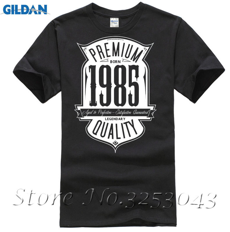 Aged To Perfection Born In 1985 32nd BirthdayGift Mens Printed T-Shirt