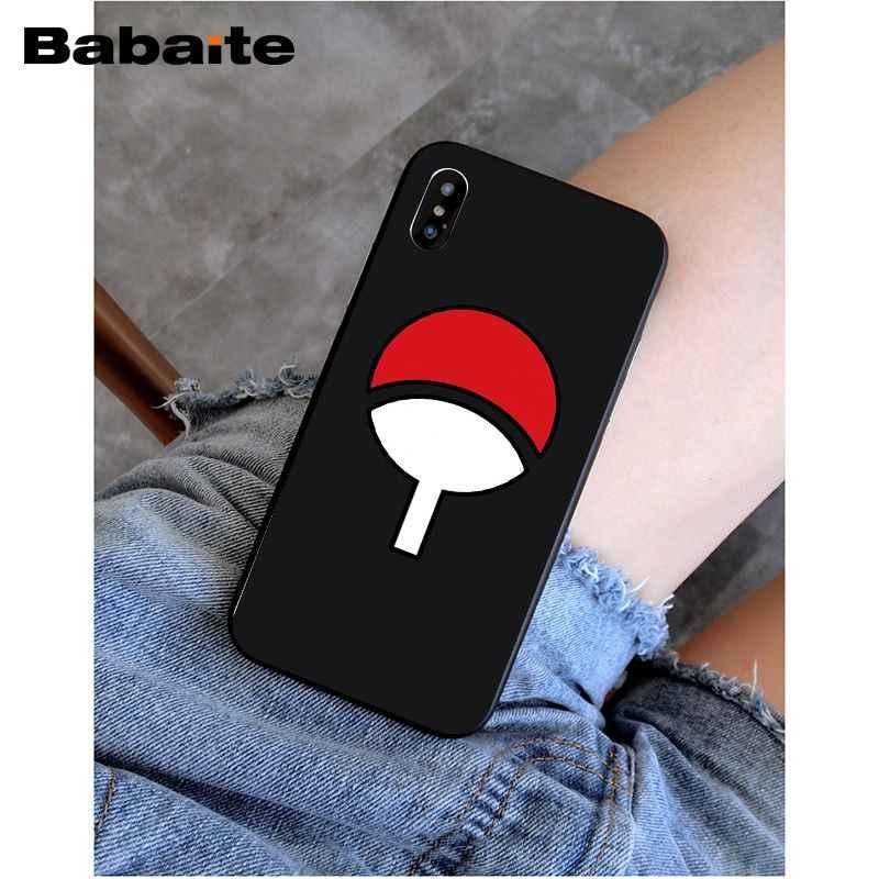 Babaite Naruto Shippuden Uchiha Itachi Clan Thường Trường Hợp Điện Thoại Cho iphone 8 8 cộng với và 7 7 cộng với 6 s 6 s Cộng Với 6 6 cộng với 5 s Điện Thoại Di Động