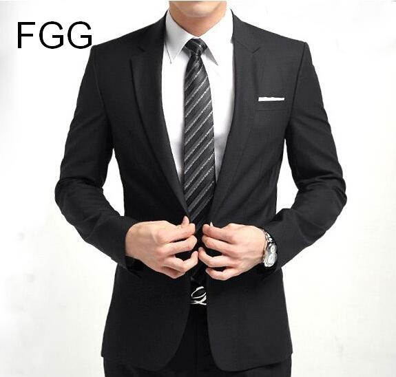High Quality Mens One Buttons Two Vented Slim Formal Business Black Suit Office Men Prom Party Suits Man Suit Blazer and Pants hoodie