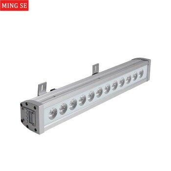 12x12 w RGBW 4in1 בר Led עמיד למים IP65 קיר לשטוף אור DMX512 לשטוף קיר Led חיצוני מבול אור DJ בר הצג שלב אור