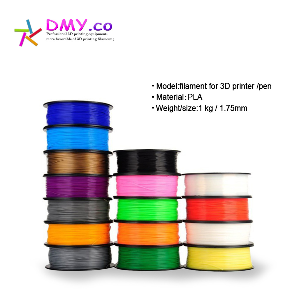 3d Printer Filament PLA/ABS 3mm 1kg Multi Colors