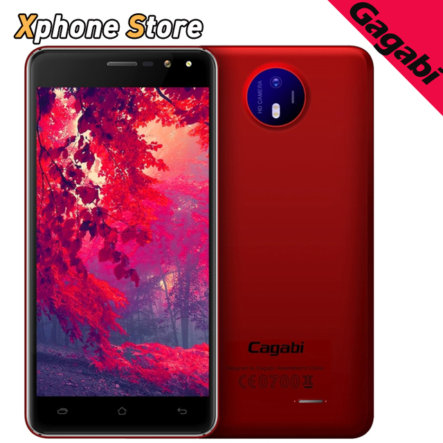 3G Original Smartphone Vkworld Cagabi ONE 1GB/8GB 5.0 inch 2.5D Android 6.0 MTK6580A Quad Core up to 1.3GHz OTA GPS FM BT WiFi