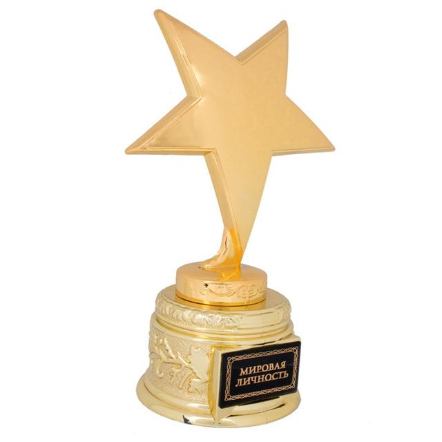 Oro Plastica Cup Trophy Bambini Sport Medaglia Vincitore Medaglia  Educational Puntelli Ricompensa Creativo Premi Regalo