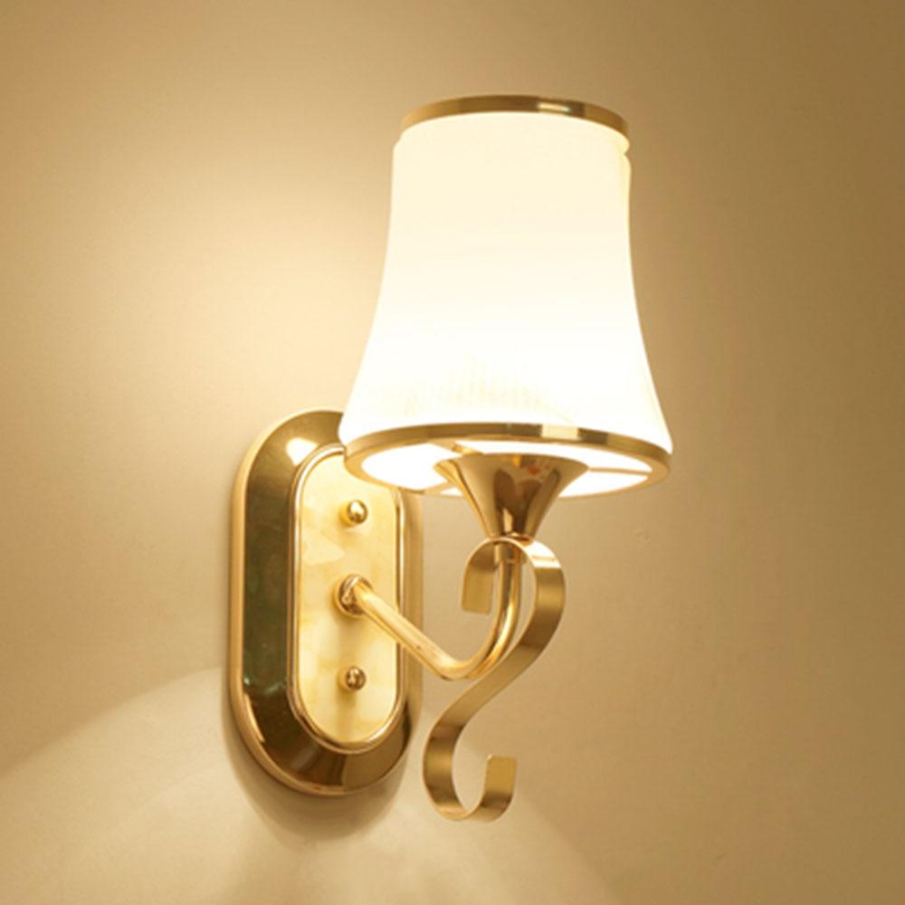 HGhomeart Crystal Sconce Led Wall Lamp Simple Modern Led Lamp 110 220V Luminaria Wall Led Light