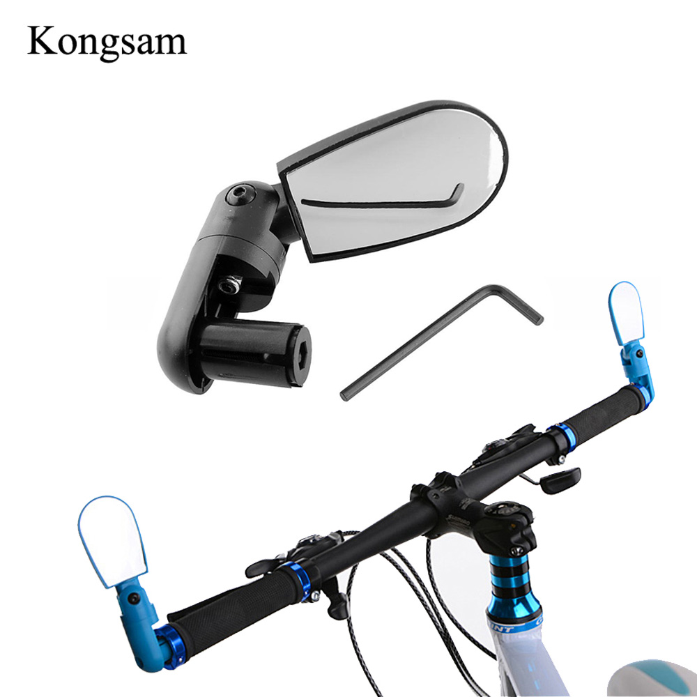 Bicycle Handlebar Mirror Universal 360 Rotate Road Bike Bicycle Handlebar Rear Back View Rearview Mirror Cycling Accessories