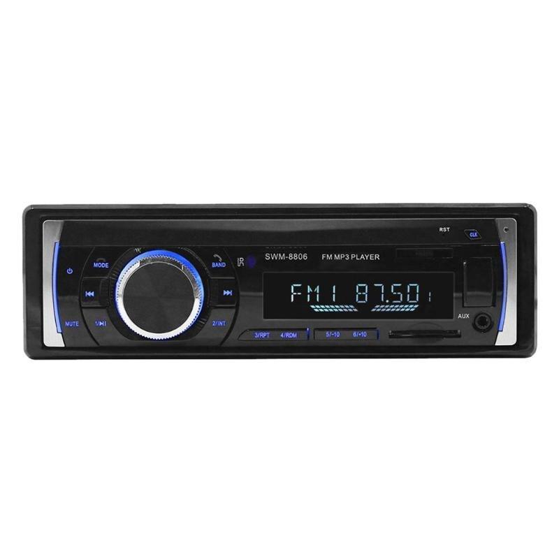 LCD Screen Bluetooth Handsfree Car Stereo In Dash MP3 Audio Player FM Radio U Disk Car Music Stereo MP3 Player