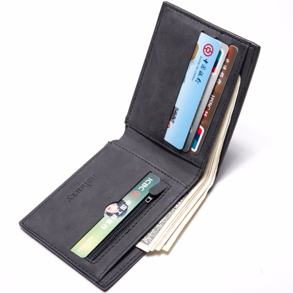 Coin Bag zipper 17 New men wallets mens wallet small money purses Wallets New Design Dollar Price Top slim Men Wallet For Male 12