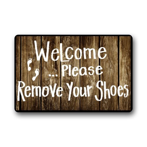 Shirley S Door Mats Custom Funny Words Take Your Shoes Off Please