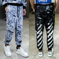 Off White Hip-Hop Skateboard 3D Pants 3D Off White Pants Men Women 1:1 High Quality Army Military Off White Pants Virgil Abloh