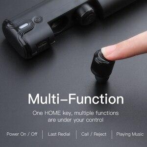 Image 3 - AWEI T8 TWS Bluetooth Kopfhörer Wahre Drahtlose Ohrhörer Mit Power Bank Dual Mikrofon 3D Stereo In Ohr Kopfhörer Für xiaomi iPhon