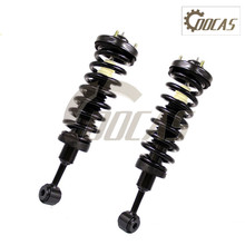 Pair of 2 Heavy Complete Struts Assembly Shock Absorber Coil Spring Front Fit FORD F-150 2004-2008