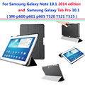 2016 Limited P600 P605 T520 T525 Ultra Slim Cover for Samsung Galaxy Note 10.1 Edition/galaxy Tab Pro Smart Case Auto Sleep